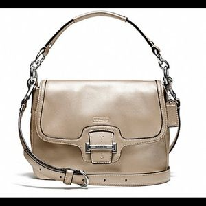 NWOT Coach Taylor Leather Flap cross body